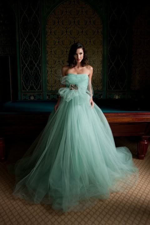 Boda - Chic diseño especial del vestido de boda