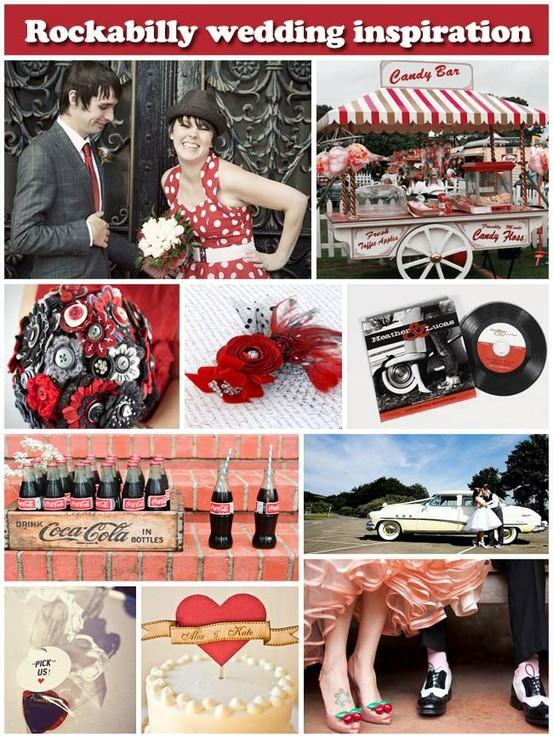 50s wedding 50s style wedding 799532 weddbook - Deco americaine annee 50 ...
