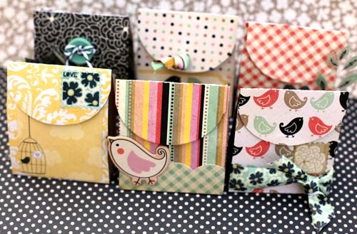 Diy Wedding Gift Bag Ideas : WeddingDIY Vintage Wedding Favors ? Handmade Vintage Gift Bag