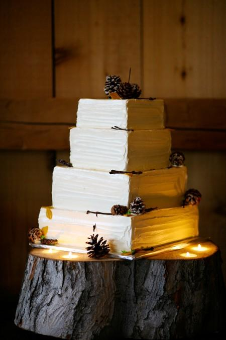 Hochzeit - Fondant Hochzeitstorte ♥ Hochzeitstorte Design