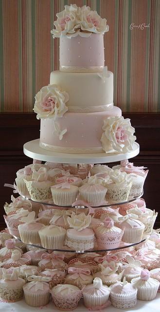 Wedding - Fondant Wedding Cakes ♥ Wedding Cupcake Design