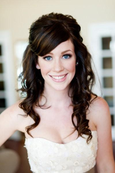 Hairstyles For Naturally Wavy Hair : Cute wedding hairstyle ♥ natural wavy hair #802573 weddbook