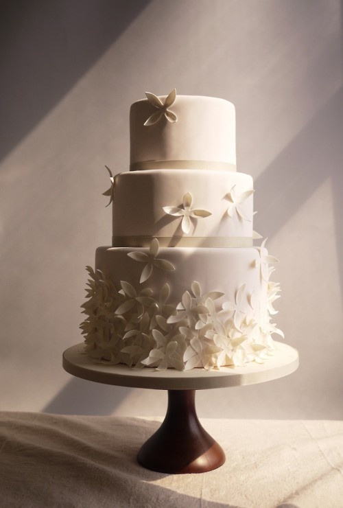 Hochzeit - Fondant Wedding Cakes ♥ Yummy Wedding Cake