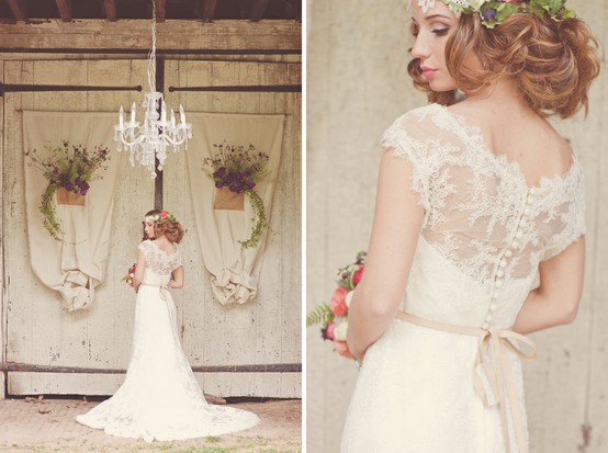 Wedding - Chic Special Design Wedding Dress ♥ Lace Wedding Dress