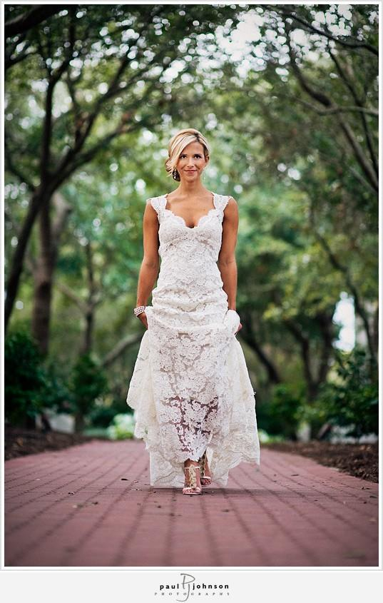 Hochzeit - Chic Special Design Brautkleid ♥ Romantic Lace Wedding Dress