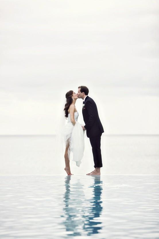 Свадьба - Пляж Свадебная фотография ♥ Романтическая Свадебная фотография