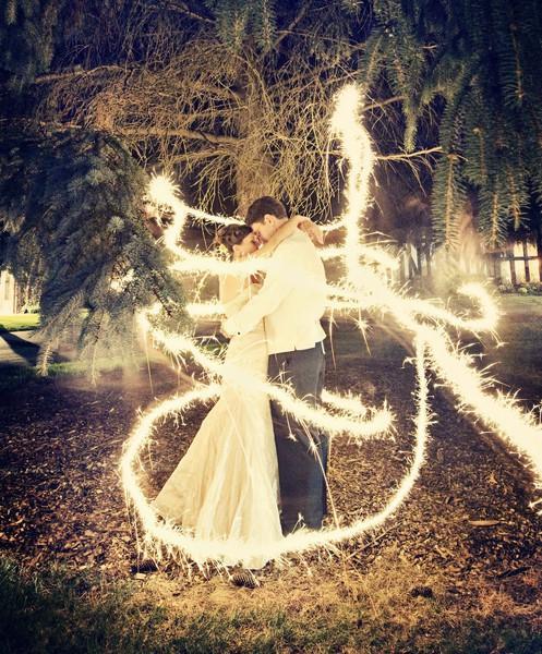 Sparkle Wedding Photography Idea ♥ Professional Wedding