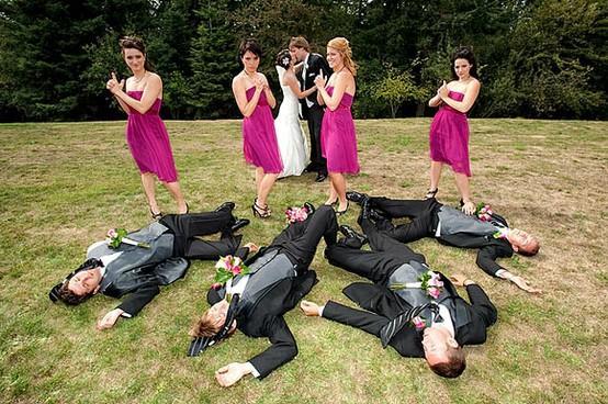 Ideas de fotos divertidas con damas de honor 1
