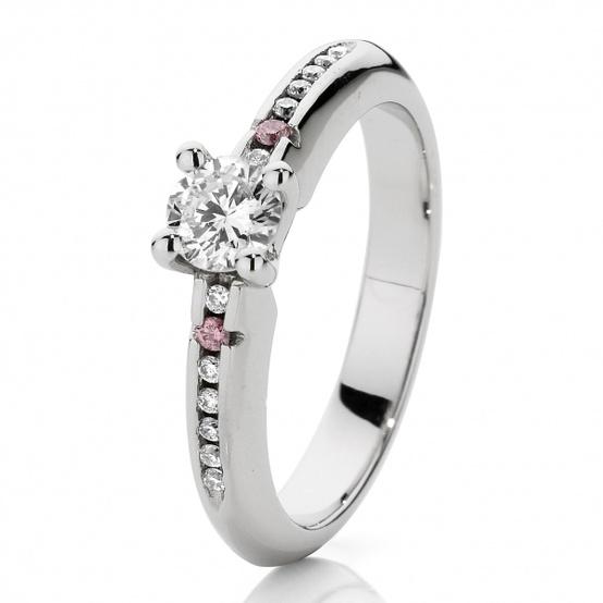 Anillo de bodas de diamante ♥ Anillos de compromiso de lujo