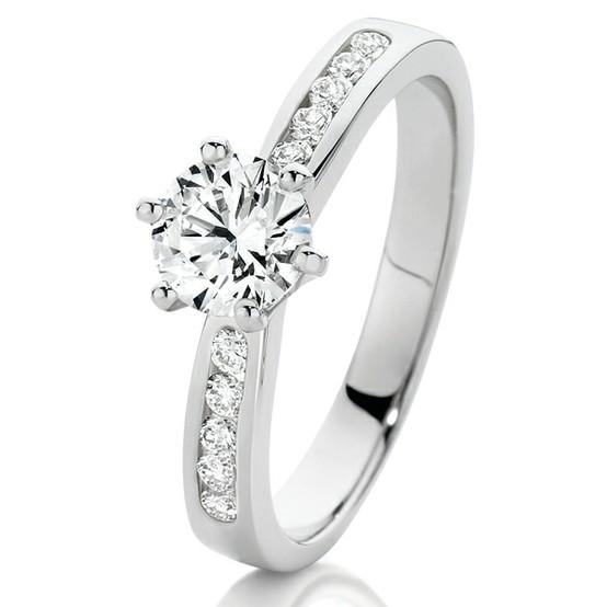 Verlobungsring Diamanten | Diamant Hochzeit Ring Gorgeous Verlobungsring 803357 Weddbook