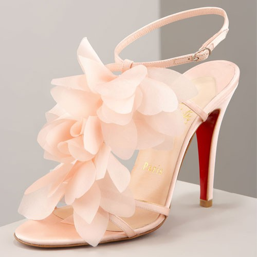 Wedding - Christian Louboutin Wedding Shoes with Red Sole ♥ Chic and Fashionable Wedding High Heels