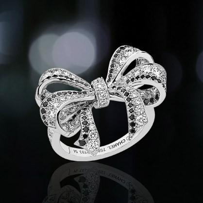 Luxry Chanel Diamond Wedding Ring Cute