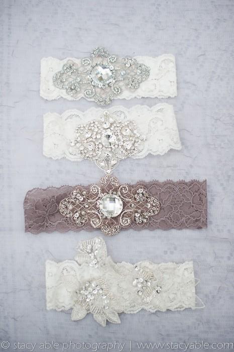 Hochzeit - Vintage Sexy Hochzeit Strumpfband