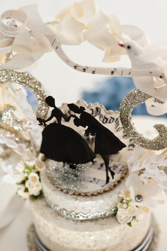 Barocke Hochzeits Vintage Wedding Cake Topper 804772 Weddbook
