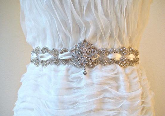 Weinlese-Braut-Accessoires ♥ Gorgeous Hochzeit Braut Sash #804833 ...