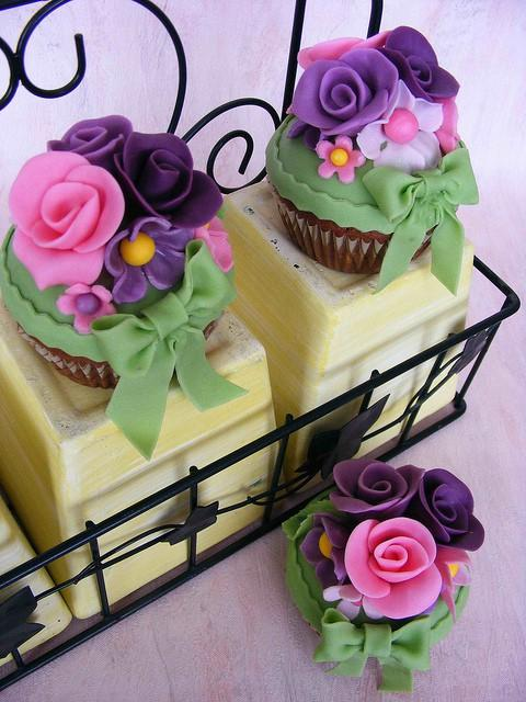 Свадьба - Свадебные украшения Cupcake