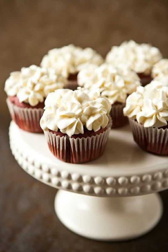 Hochzeit - Yummy Hochzeit Cupakes ♥ Homemade Hochzeit Cupcakes