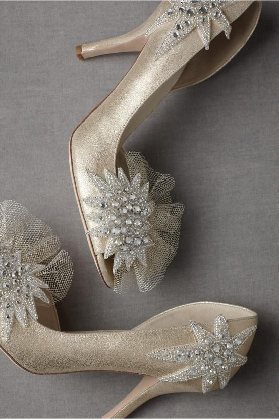 Ivory Bridal Shoes ♥ DIY Your Wedding Day Pumps #805413 ...