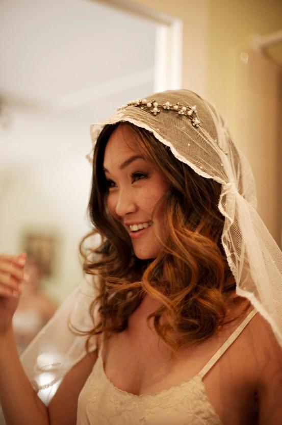 Hochzeit - Natürliche Hochzeit Frisuren