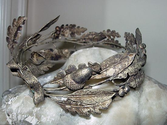Hochzeit - weddbook - Französisch Stil, Braut silberne Krone