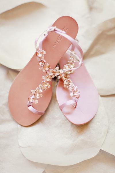 7b13a7a42 Chic And Comfortable Blush Wedding Sandals  806029 - Weddbook
