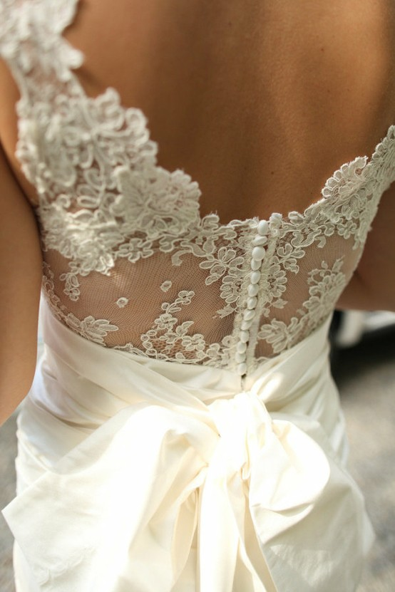 Hochzeit - Chic Special Design Brautkleid ♥ Lace Wedding Dress