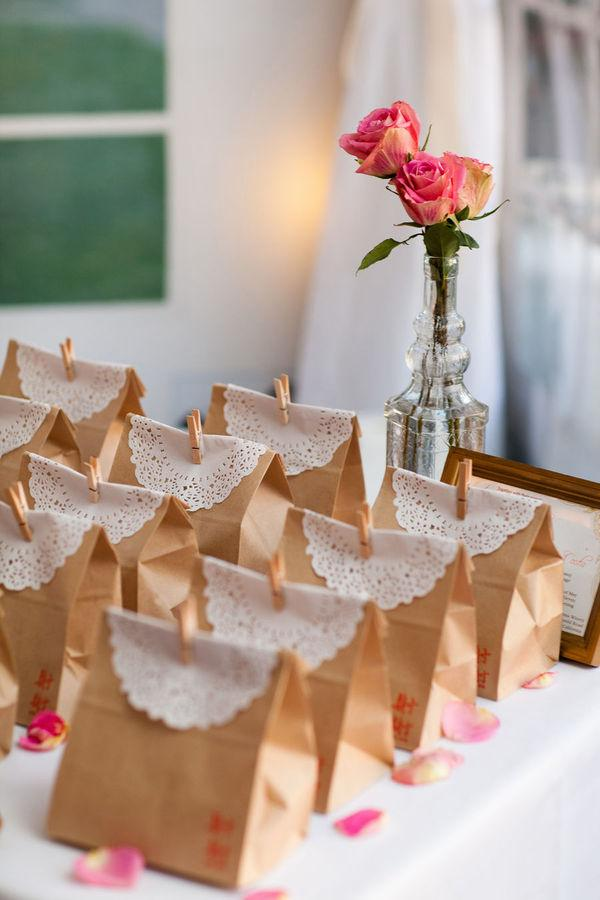 wedding diy vintage wedding favors handmade vintage gift bag