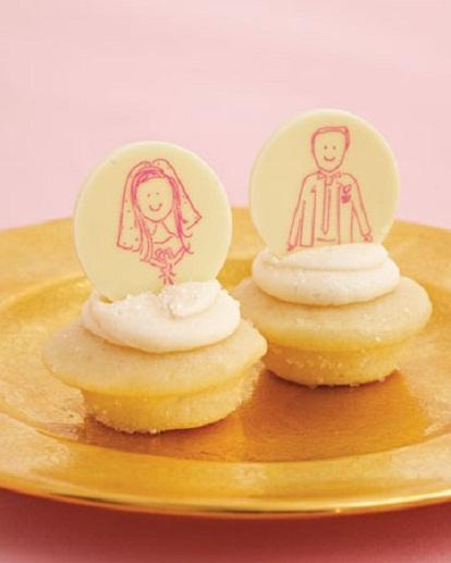 Wedding - Yummy & Creative Wedding Cupakes ♥ Unique Wedding Cupcakes