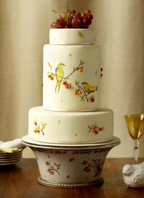 Свадьба - Ручная роспись Свадебные торты ♥ Свадебный торт Design