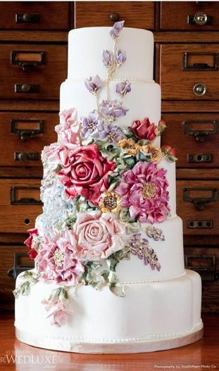 Свадьба - Fondant Свадебные торты ♥ Свадебный торт Design