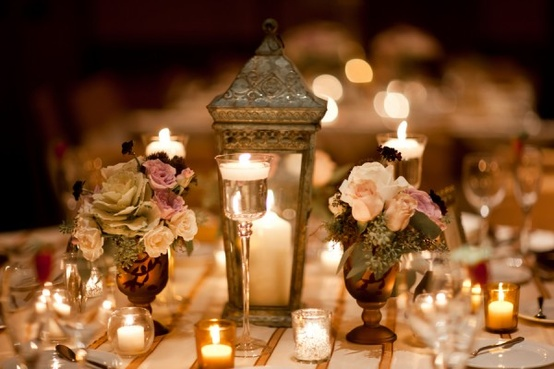 Wedding - Wedding Table Decoration ♥ Wedding Light Options