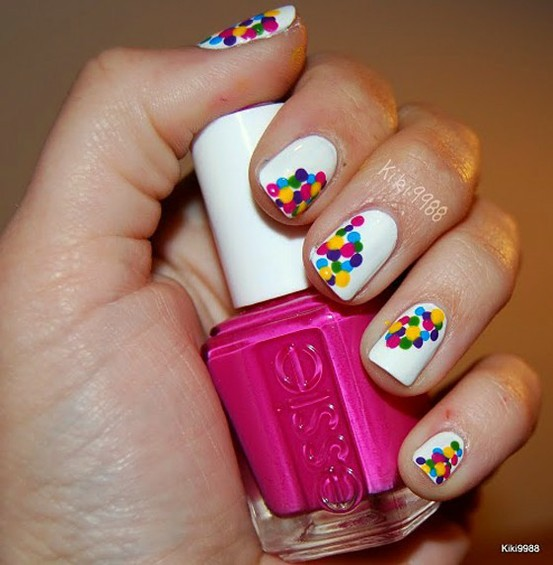 Colorful Wedding Mermaid Nail Art Design 888695 Weddbook