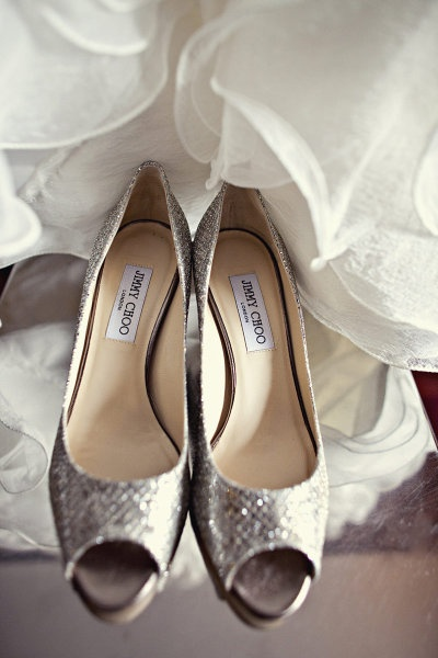 Mariage - Jimmy Choo Sparkly chaussures de mariage chaussures de mariage Chic ♥