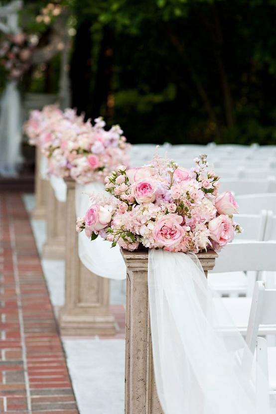 Summer wedding stylish wedding aisle decor ideas 902879 for Aisle wedding decoration ideas