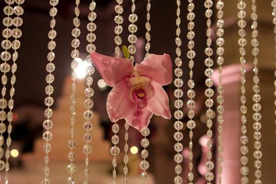 Wedding - Wedding Decor with Crystals and Orchids