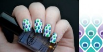 wedding photo -  Bohemian Nail Art & Design ♥ Pattern Nail Art & Design