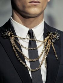 wedding photo -  Unique Groom Accessories ♥ Dsquared² Spring / Summer 2013 Menswear Collection