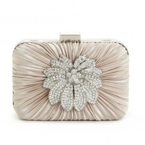 wedding photo - Special Design Satin Evening Clutch