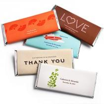 wedding photo - Personalized Large HERSHEY'S® Chocolate Bars