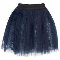 wedding photo -  Navy Net Sequin Tutu