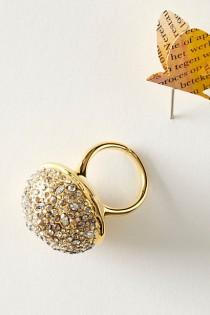 wedding photo - Pave Sphere Ring - K