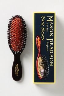 wedding photo - Mason Pearson Pocket Mixed Bristle Brush - B