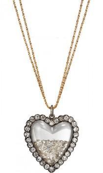 wedding photo - Роскошные Бриллиантовой Свадьбы Ожерелье ♥ Потрясающие Алмазного Колье Сердце