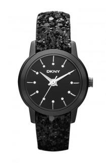 wedding photo -   DKNY Black Sparkle Strap Watch | DKNY Siyah Parlak Kayisli Saat