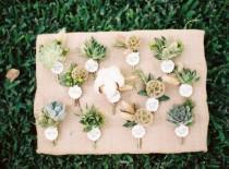 wedding photo - Бутоньерки для мальчиков