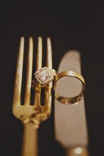 wedding photo - Unique et Creative Idea Photo Wedding Ring