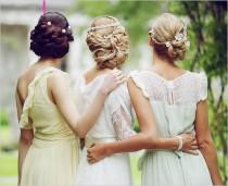 wedding photo - Impresionantes Updos boda ♥ Gorgeous Prom Updo Ideas ♥ Novia y damas de honor Peinados