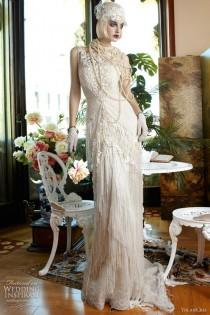 Shoulder Wedding Dress on Lhuillier Fall 2013 Strapless One Shoulder Gown   Wedding Dresses