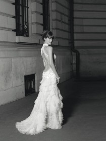 wedding photo -  Sexy Deep Low-Cut Back Wedding Dress ♥ Cymbeline Spring 2013 Bridal Collection |  Sirt Dekolteli Seksi Gelinlik