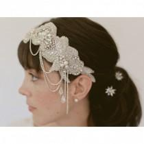 wedding photo - SO PRETTY BEADED HEADBAND